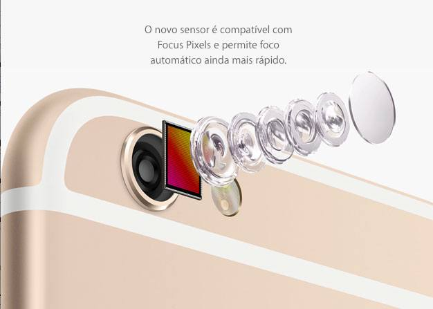 iPhone6 - Câmera