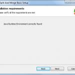 PDF Split - Java instalado