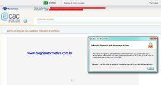 JAVA – Problemas para acessar o DTE Domicílio Tributário Eletrônico da Receita.fazenda.gov.br