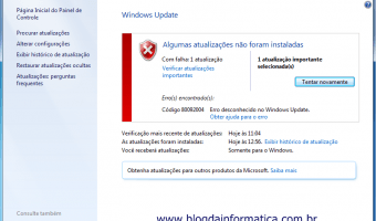 Erro Windows Update 80092004 KB3038314
