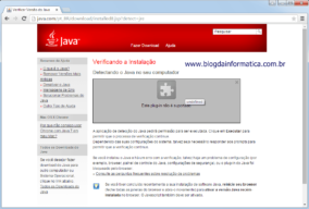 Google Chrome não executa plug-in java