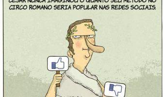Método de César nas Redes Sociais