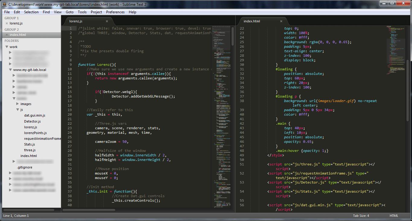 Sublime editor de texto