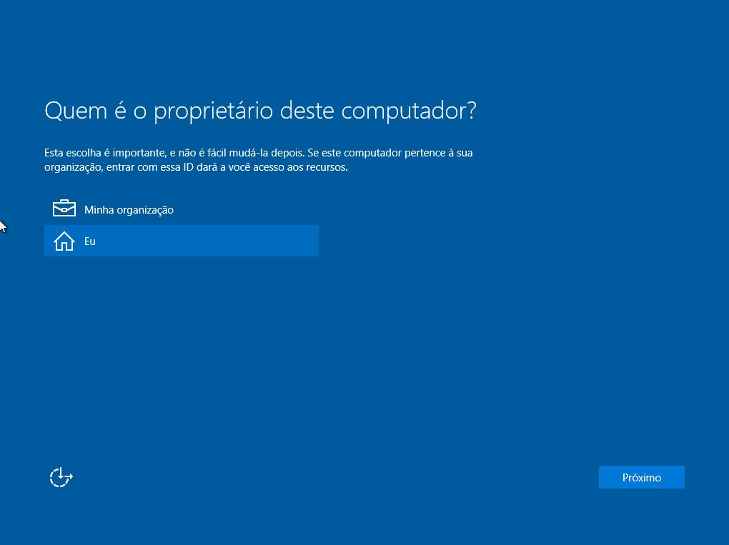 Windows 10 - Proprietário