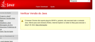 Chrome não executa mais Java. E agora ?