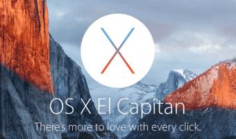 El Capitain - O Novo sistema para MACs