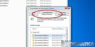 """Usando """"Restauração do sistema"""" para recuperar arquivos"""