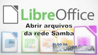Libreoffice não abre arquivos da rede