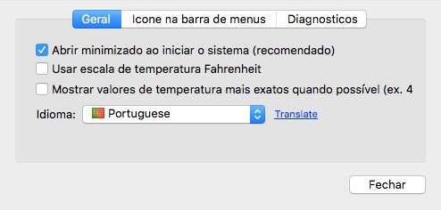 MacsFanControl - Iniciar minimizado