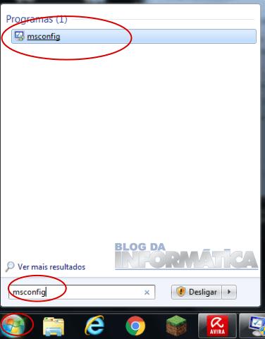 Windows 7 - msconfig.exe