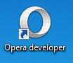 Ícone do Opera Developer