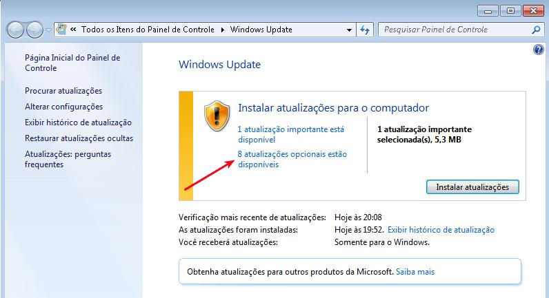 Windows Update - Erro 9c48