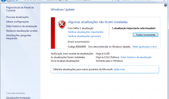 Erro 8024200d do Windows Update