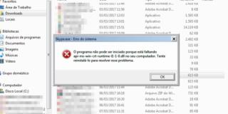 Erro Api-ms-win-crt-runtime-l1-1-0.dll está faltando