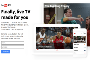 Google (Youtube TV) entra na briga das TVs por assinatura