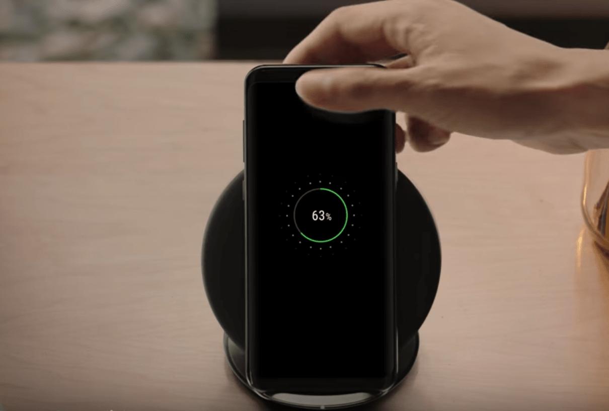 Samsung Galaxy S8 - Carregador sem fios