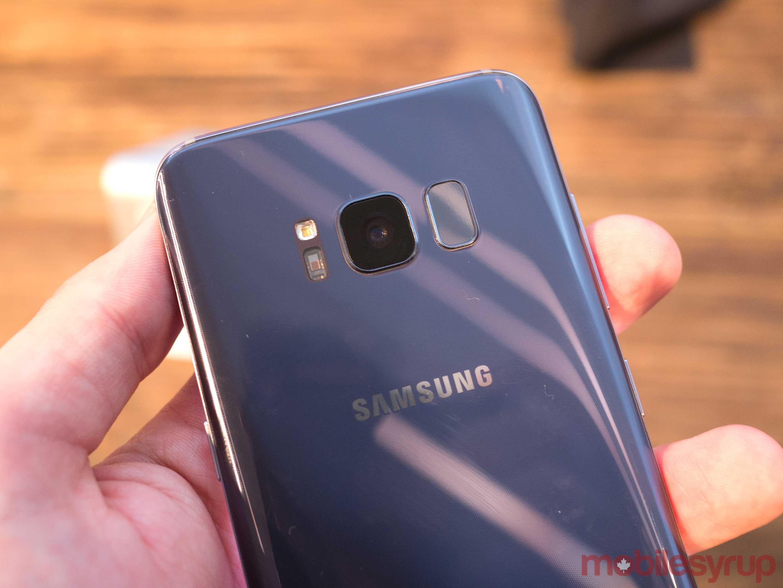Samsung Galaxy S8 - Reconhecimento facial