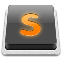 Sublime Text editor 1