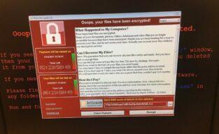Um ataque cibernético global – Ransomware