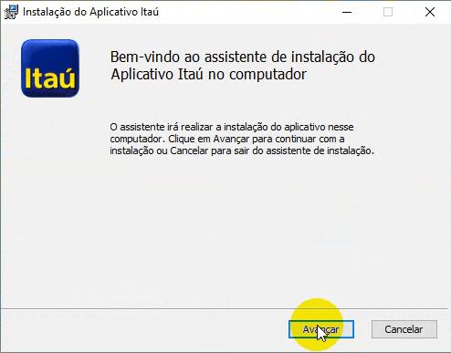 Re-instalando o Aplicativo Itaú