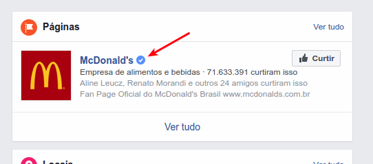 McDonald's - Página oficial do Facebook