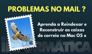 Corrigir problemas no Mail do Mac Os X