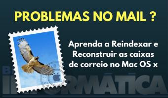 Problemas no app Mail do Mac OS X