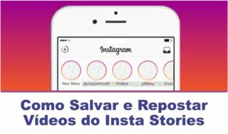 Como baixar Vídeos do Insta Stories no iPhone