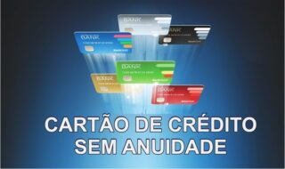 Guia dos cartões de crédito sem anuidade