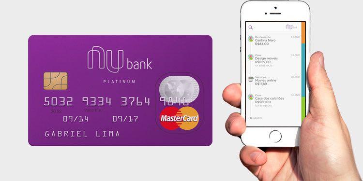 Cartão de crédito sem anuidade - Nubank