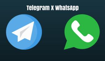 Telegram x WhatsApp