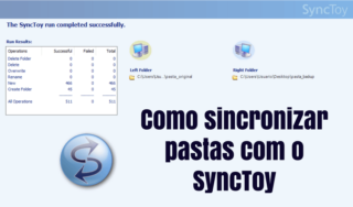 Backup simples e rápido com SyncToy