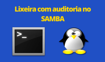 Lixeira no Samba com auditoria