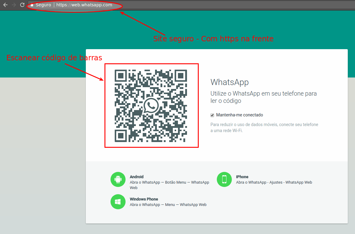 Whatsapp Web - Entrar