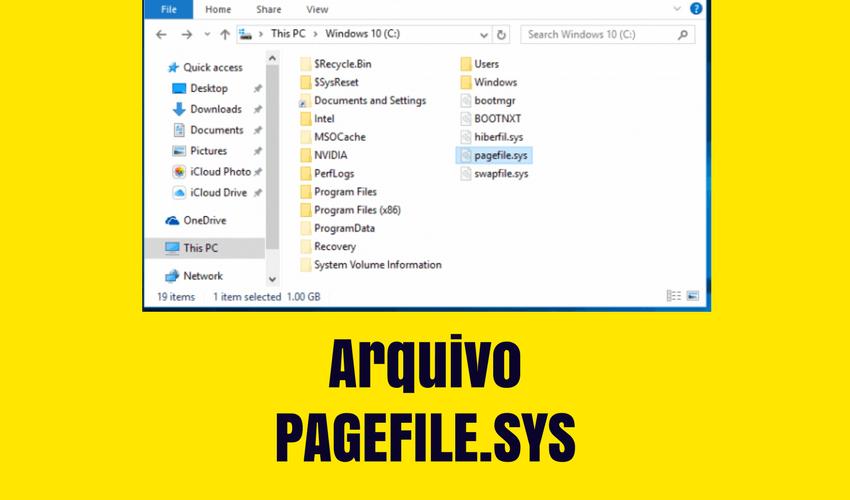 Arquivo PAGEFILE.SYS