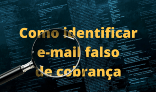 E-mail falso de Notificação Extrajudicial