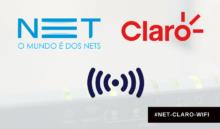 O que é #NET-CLARO-WIFI