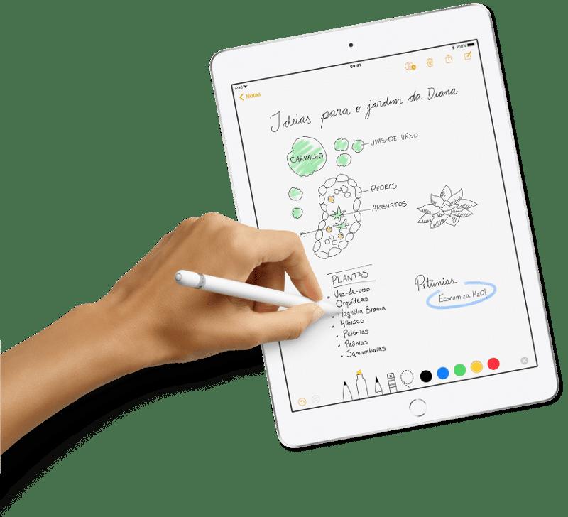 Novo iPad - Caneta