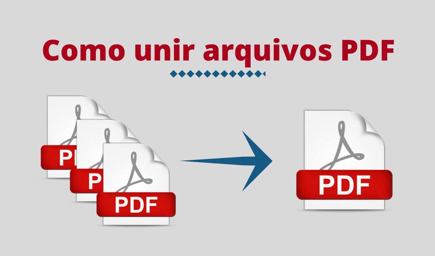 Como unir arquivos PDF