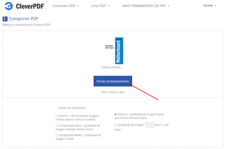 Clever PDF - Compressão