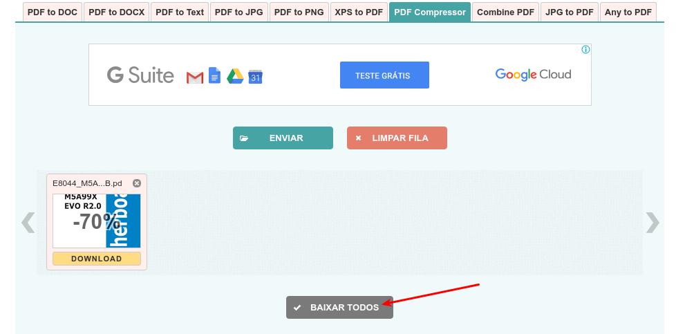 PDF Compressor - Baixar documentos