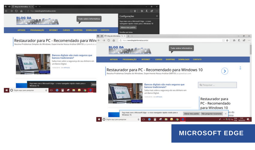 Usar tema Dark no Microsoft Edge