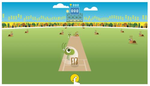 Jogos do Google - Cricket