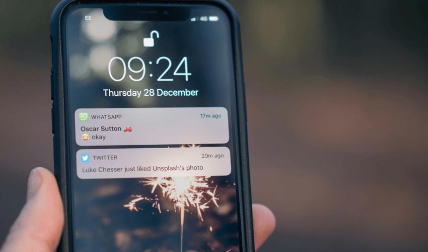 Mensagens destacadas no WhatsApp