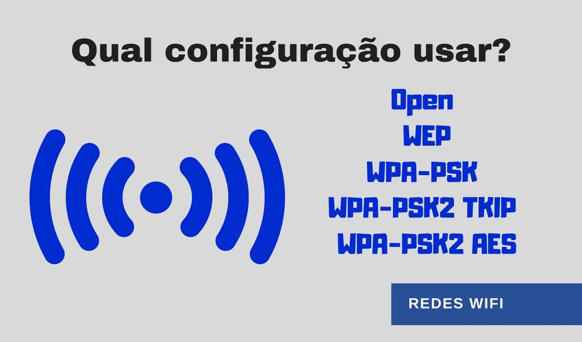 WiFi - AES, TKIP ou ambos