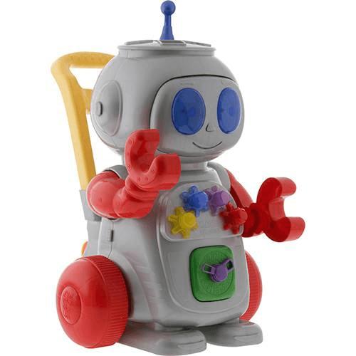 Robô vermelho - Magic Toys