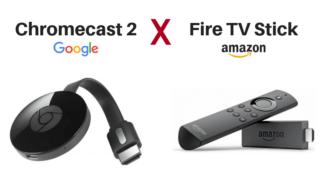 Chromecast ou Fire TV Stick? O que você deveria saber antes de comprar