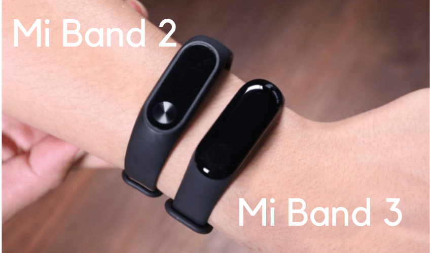Xiaomi Mi Band 3 e 2
