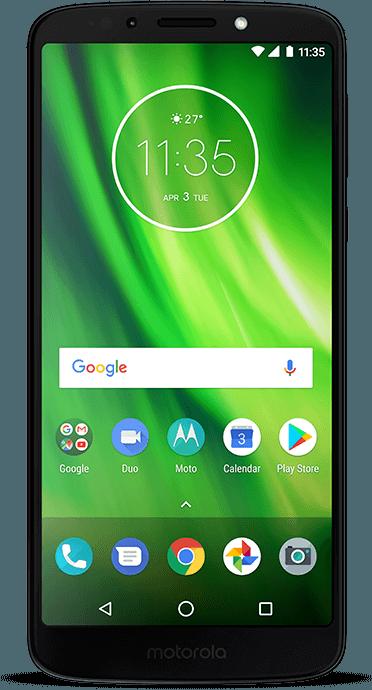 "Moto G6 Play - Tela HD+ de 5.7"""