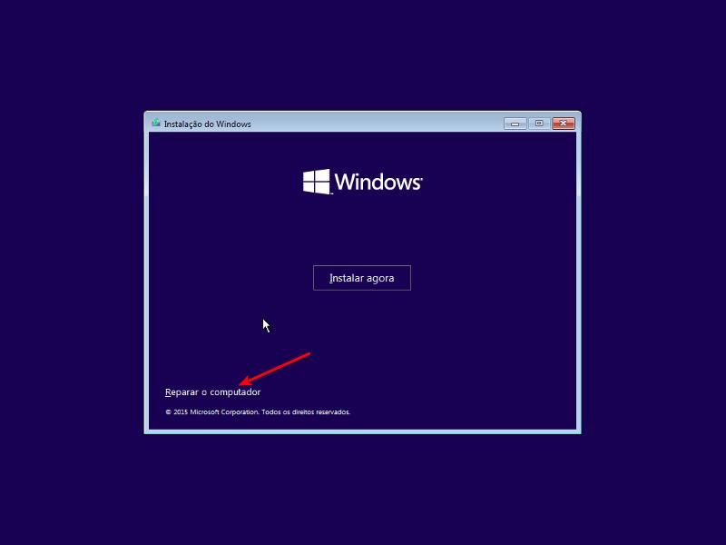 Consertar 'No bootable device' no Windows 10 2